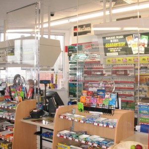 retail security solutions Convenience Store Bulletproof Barriers