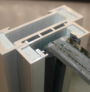 bulletproof glass framing systems