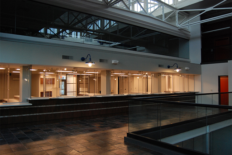 bulletproof barrier systems installed in government buildings can work as a deterrent to and discourage active shooter events.