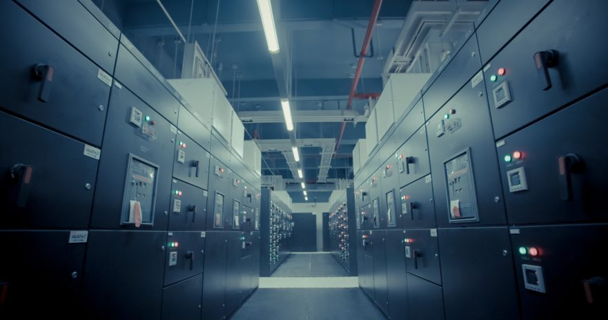 Data center physical security involves securing the many entry and exit points of the building, and possibly installing ballistic barriers to protect staff.