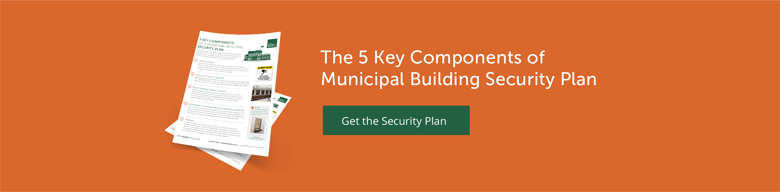 The 5 Key Components of Municipal Building Security Plan
