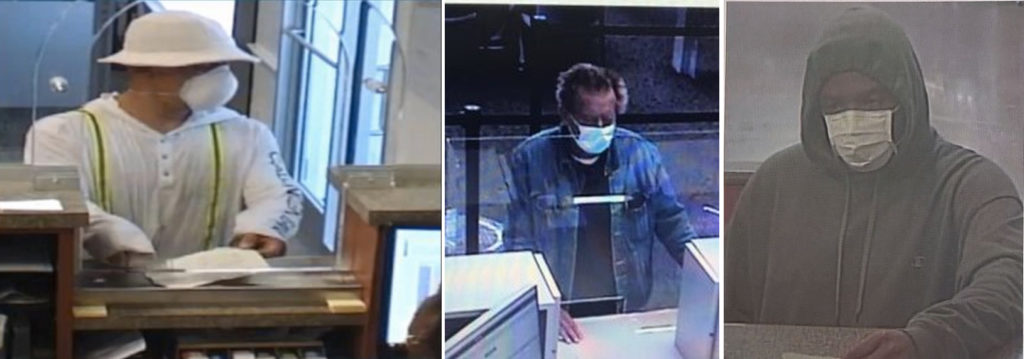Bank robbers across the U.S. using coronavirus masks to subvert bank security measures