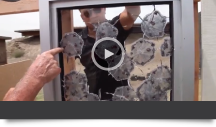 Bulletproof Glass Testing