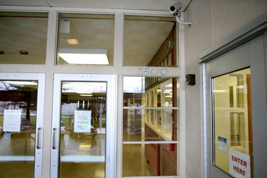 Bulletproof School Entryway