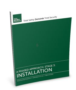 Bulletproof Glass Installation White Paper Cover