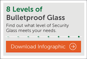 Download our infographic, The 8 Levels of Bulletproof Glass