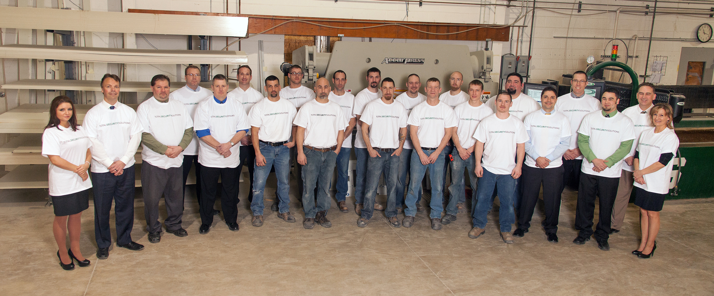 Total Security Solutions' Employees