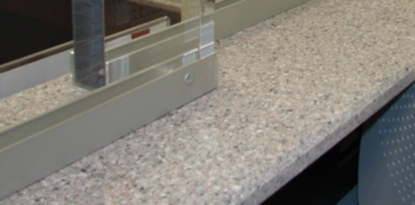 TSS bullet resistant counters