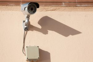 typical video surveillance equipment used to deter crimes
